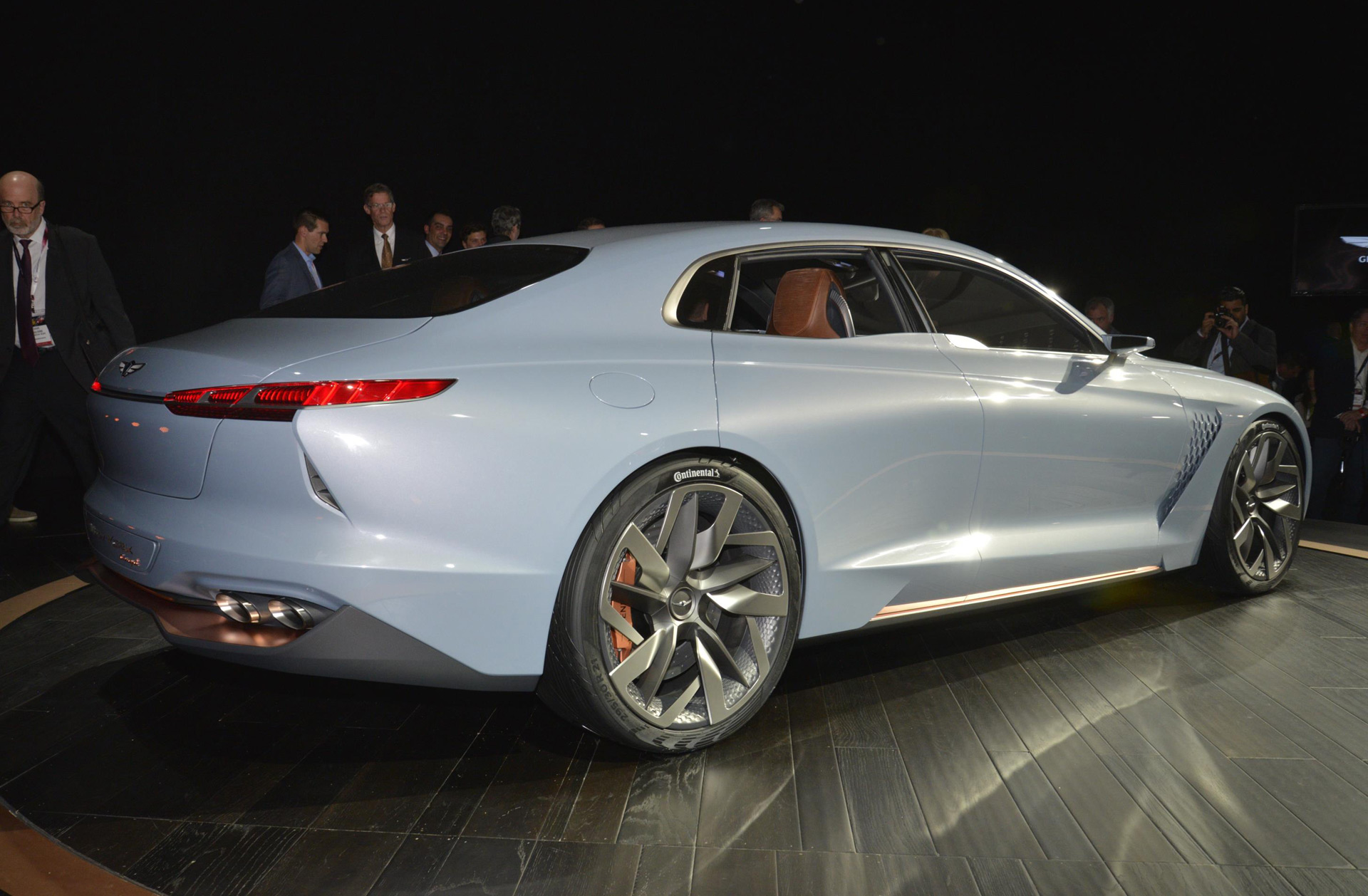 Genesis New York Concept Audi R8 Spyder Mercedes Amg C63