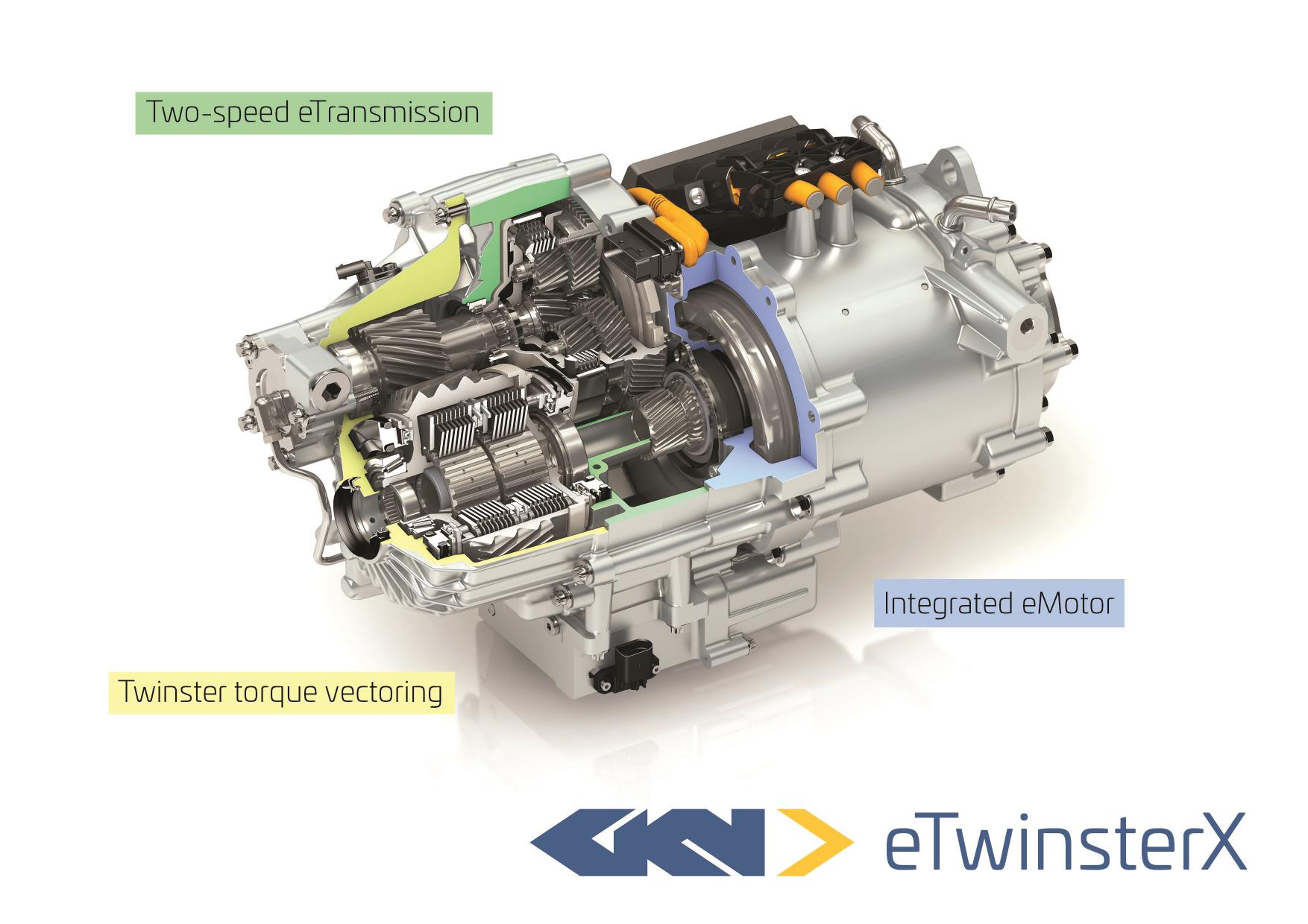 Gkn Drivelines Introduces Off The Shelf Torque Vectoring Eaxle