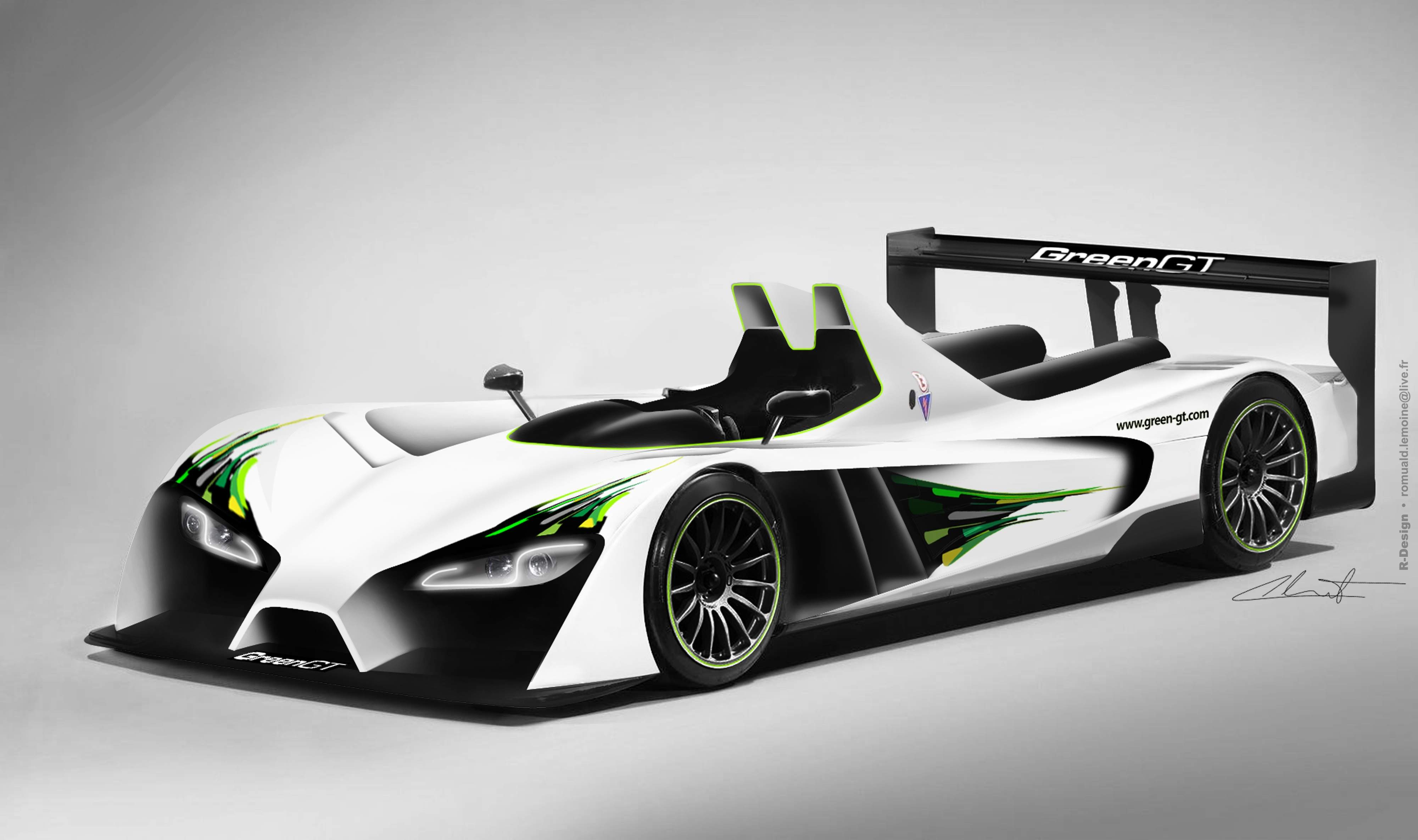 H Racer   Hydrogen Car