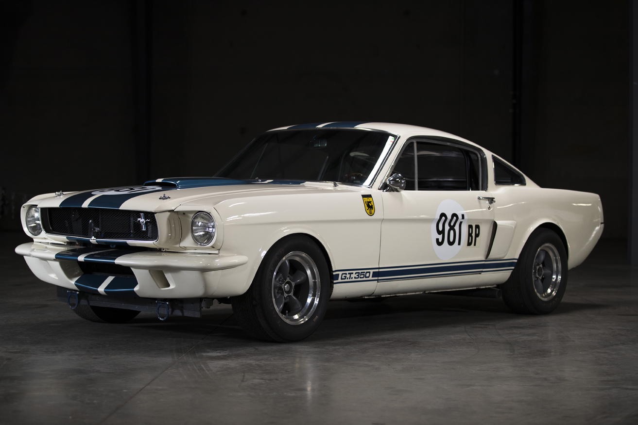 Awaken your inner Ken Miles with a limited edition 1965 Ford Shelby GT350