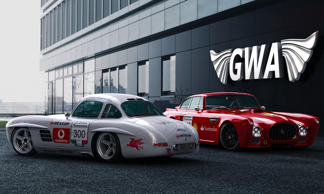 gullwing america builds la carrera panamericana tribute cars. Black Bedroom Furniture Sets. Home Design Ideas