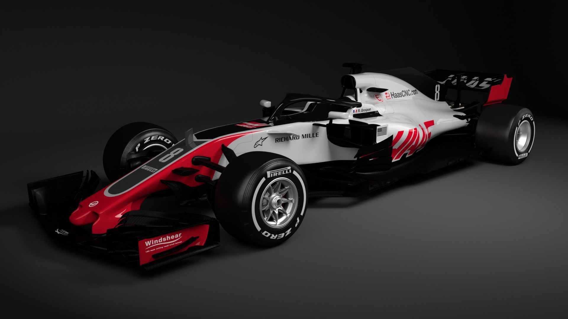 Haas becomes first team to reveal 2018 F1 car