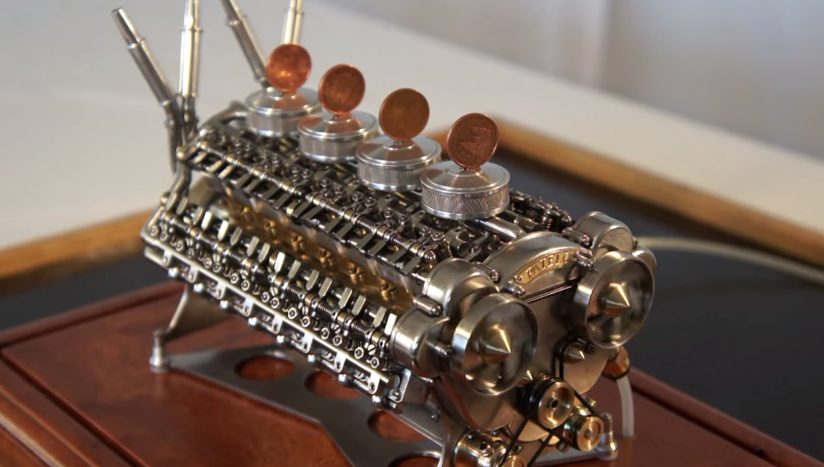 Miniature W 32 Engine Is Mind Blowing Video