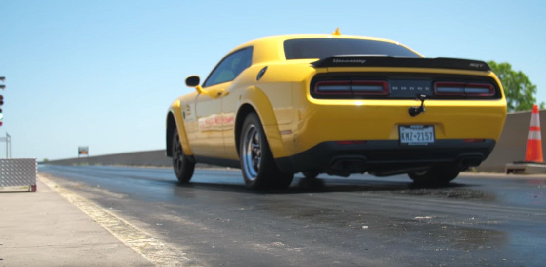 Hennessey Demon Runs The Quarter Mile In 9 14 Seconds