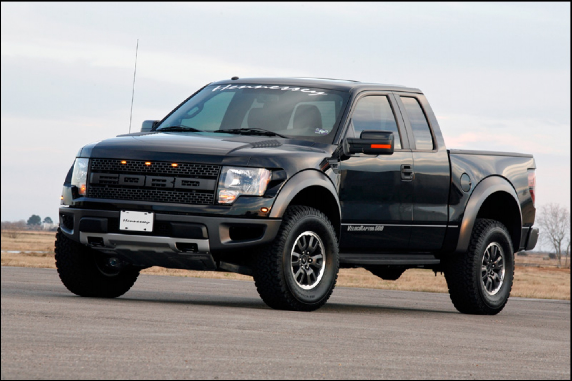 Hennessey Offers More Upgrades For Ford's F-150 Raptor: Video