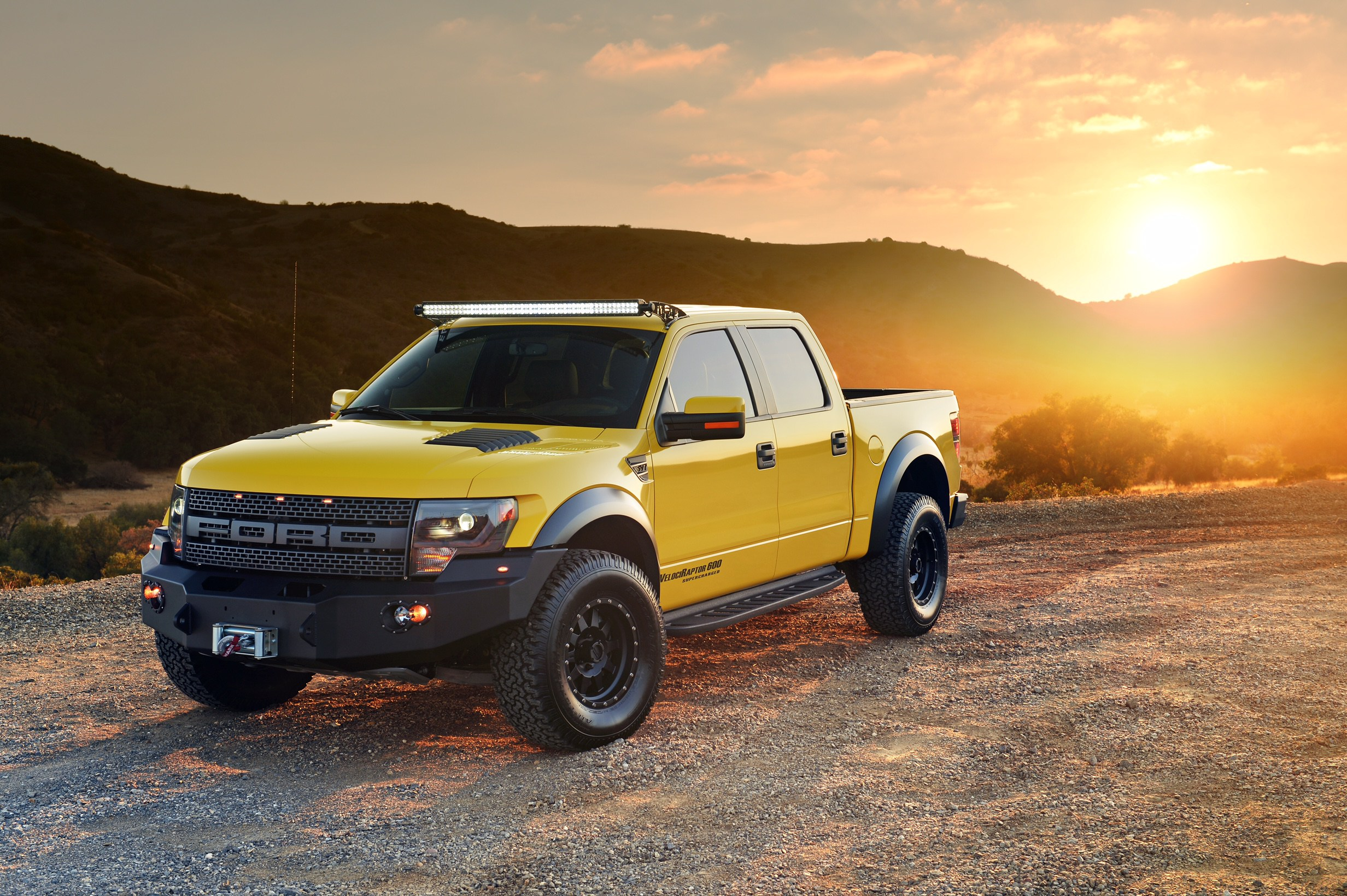 Hennessey F 150 Raptor Driven By Jeremy Clarkson Heads To