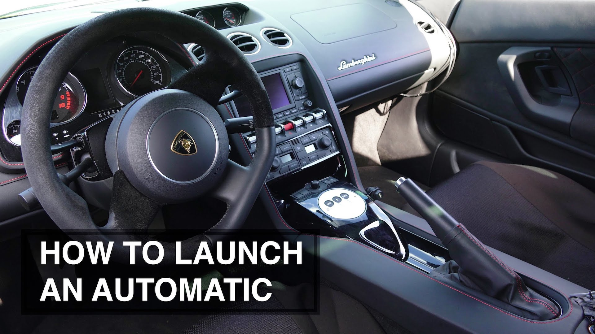 here s how you launch a car with an automatic gearbox rh motorauthority com hellcat manual transmission launch control Automatic Transmission