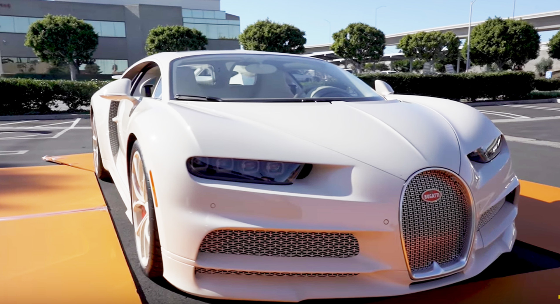 Manny Khoshbin Takes Delivery Of Hermes Enhanced Bugatti Chiron