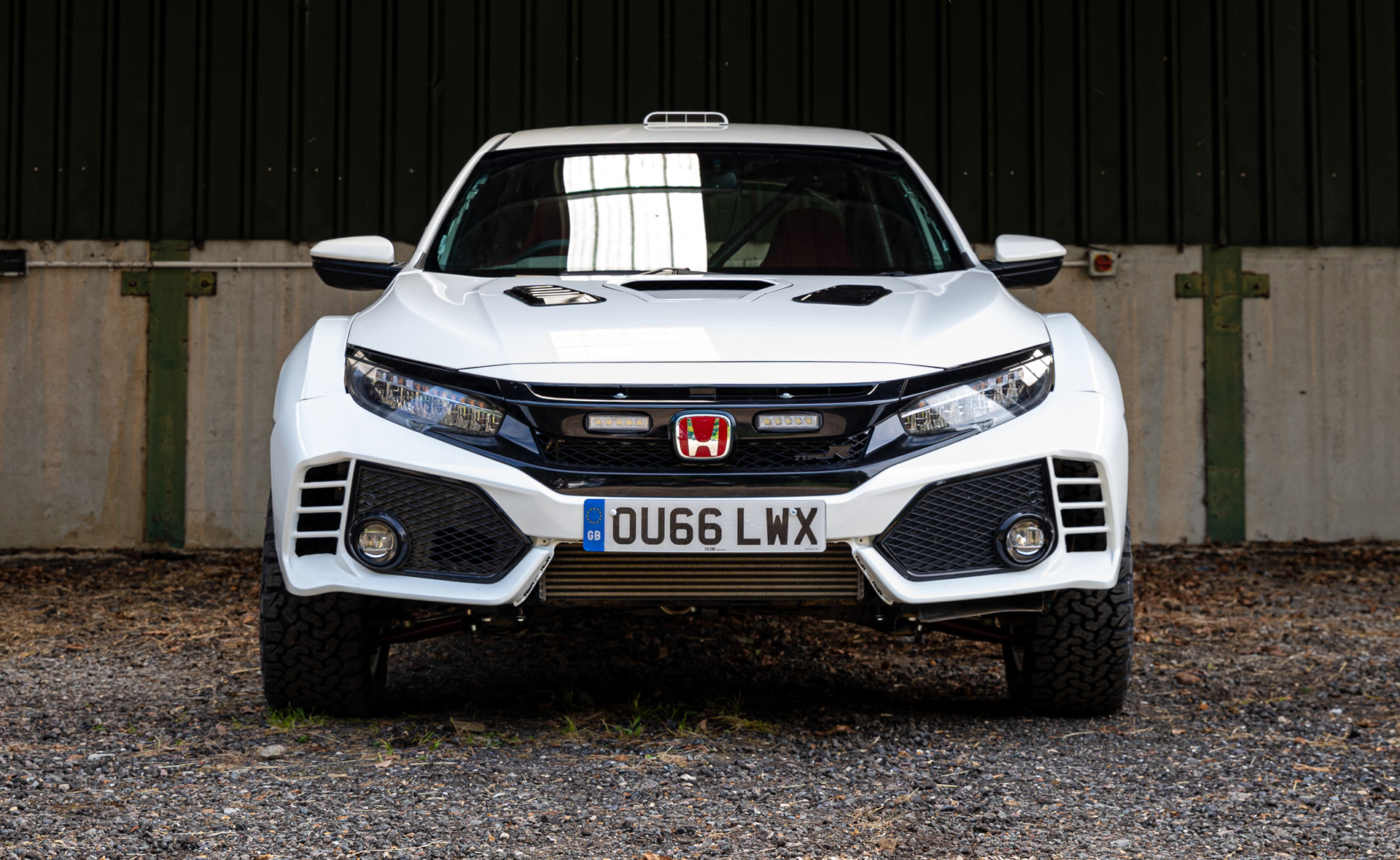 lift kit turns honda civic type    rally monster