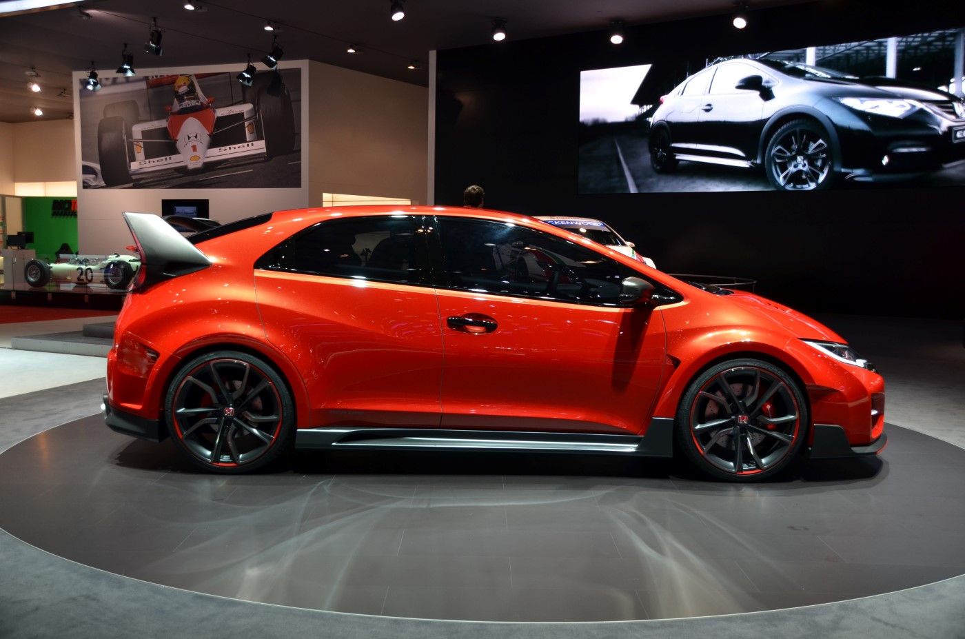 2015 honda civic type r concept revealed in geneva live photos and video. Black Bedroom Furniture Sets. Home Design Ideas