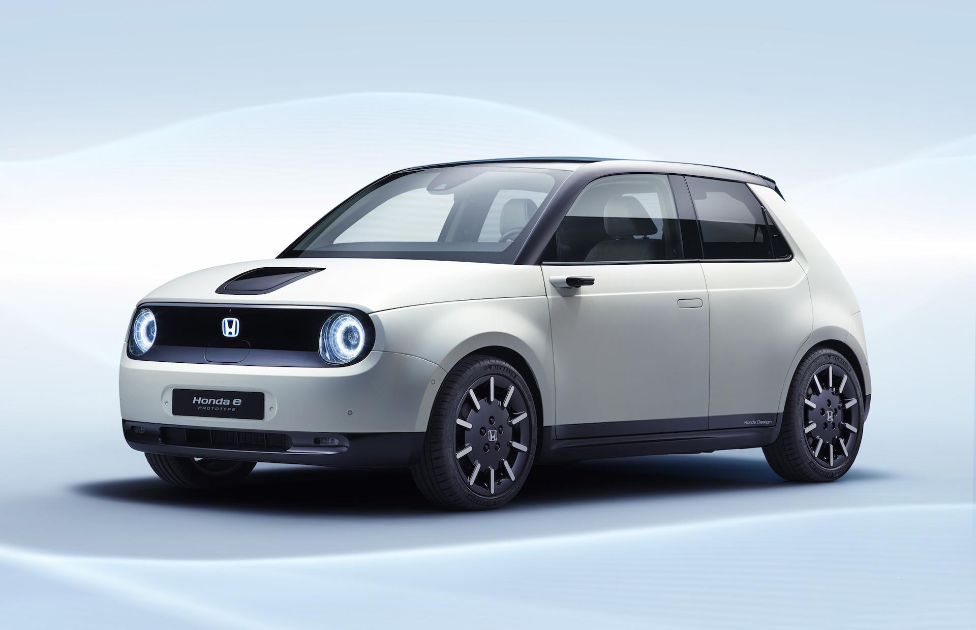 Honda Usa Cars >> Honda E Becomes Official Name Of Urban Ev More Hybrids To Come