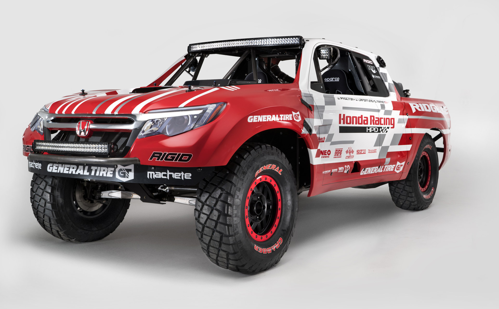 2017 Honda Ridgeline Previewed At SEMA By Desert Race Truck