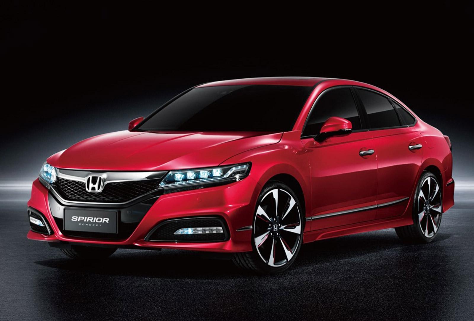 Honda Debuts Spirior And B Sedan Concepts In China