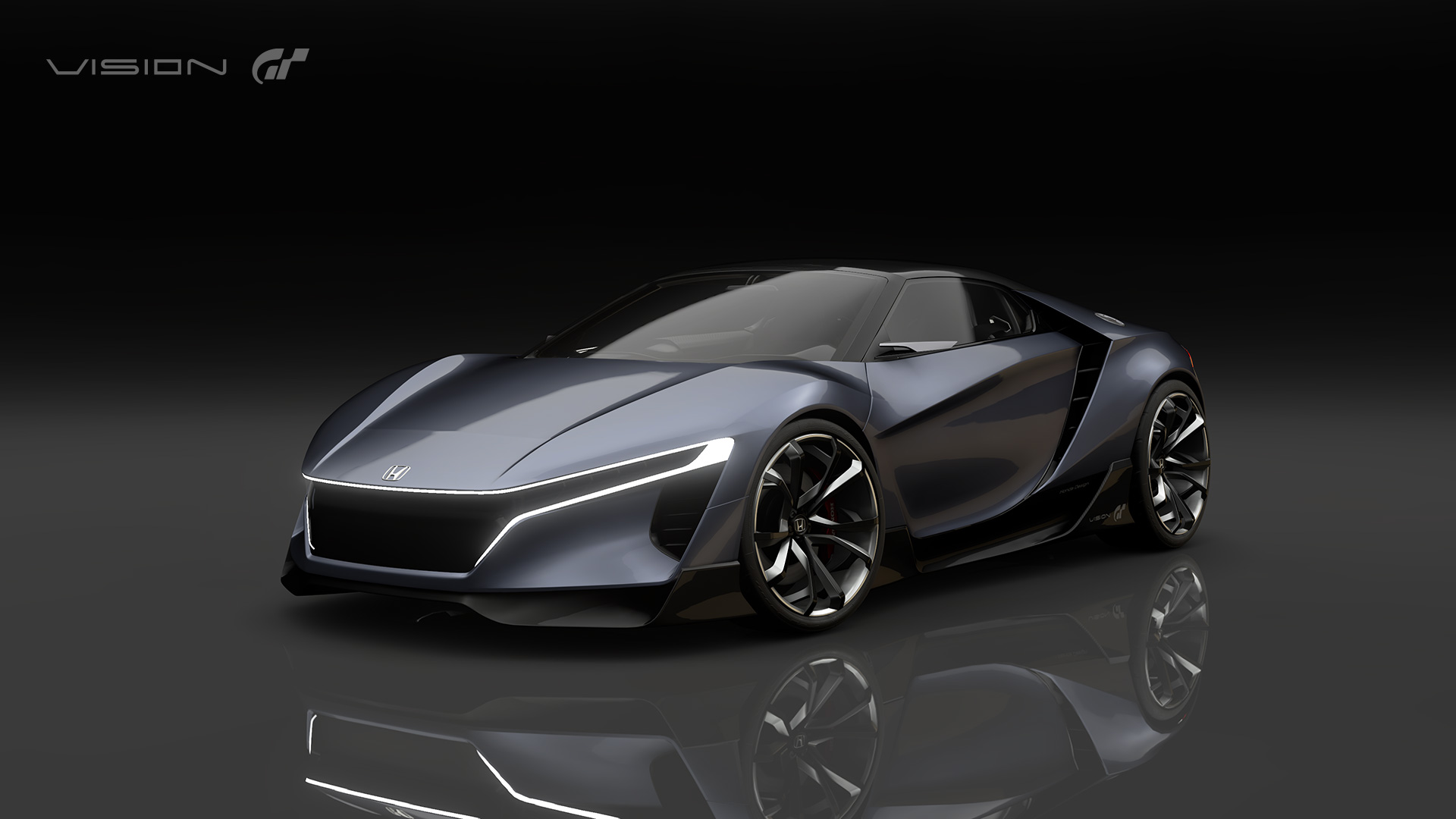 Mystery Mid-engine Honda Revealed As Vision GT Concept