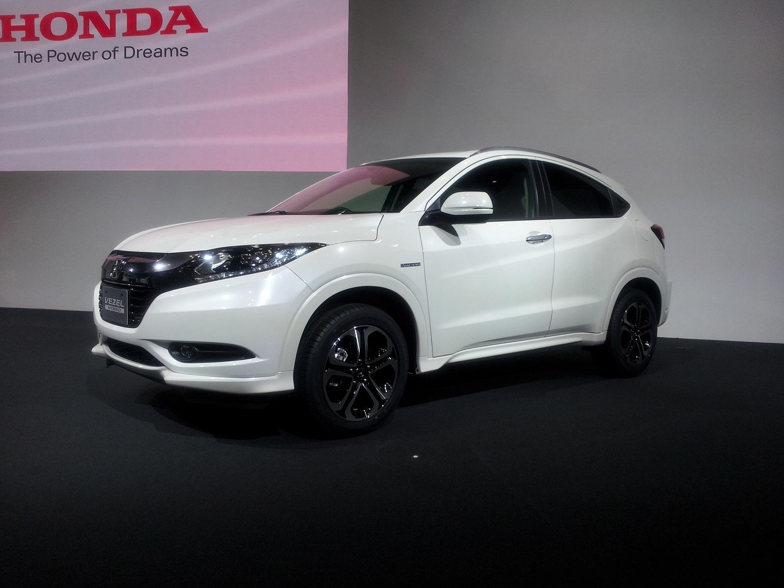 Honda Vezel Compact Crossover Tokyo Motor Show Live Photos