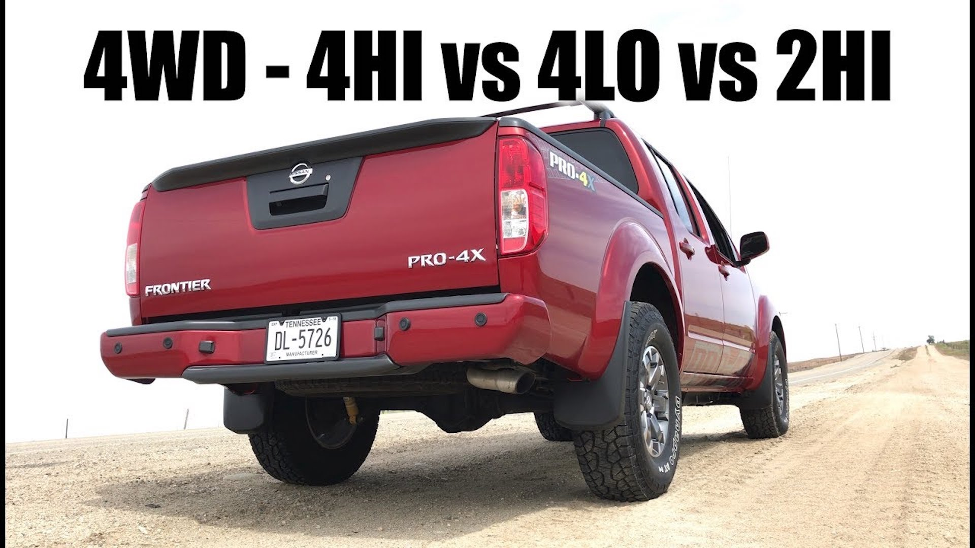 how 4wd works 4hi vs 4lo vs 2hi