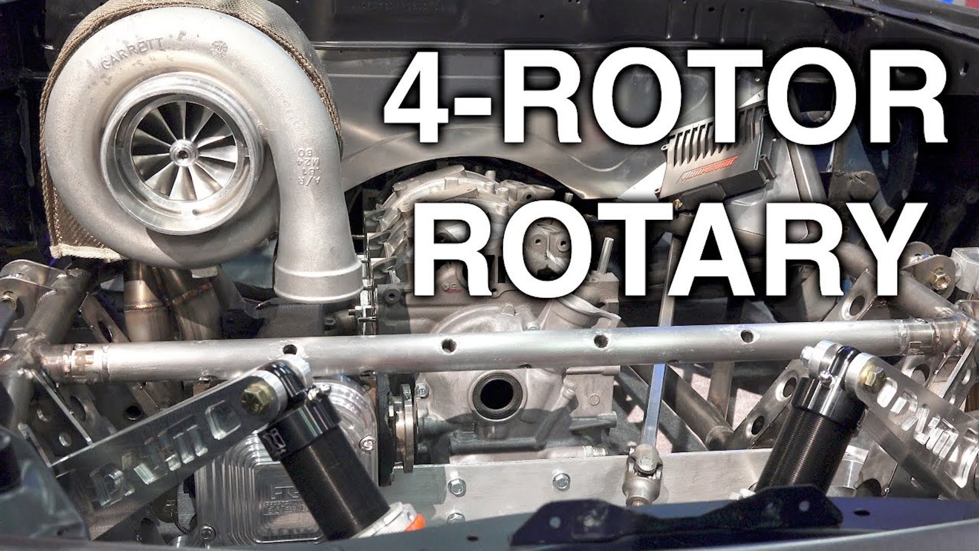 How The Elusive 4 Rotor Rotary Engine Works