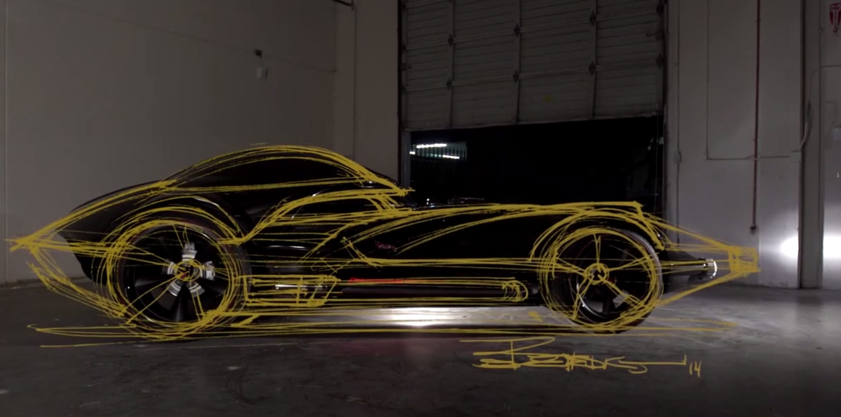 How The Darth Vader Hot Wheels Car Was Made: Video