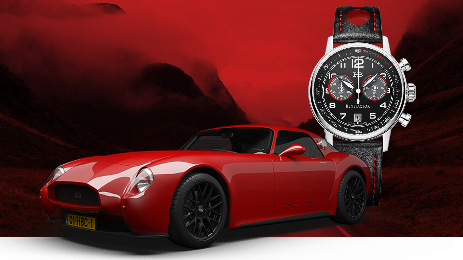 Buy this seriously cool Swiss watch and help get the Huet Brothers Coupe into production
