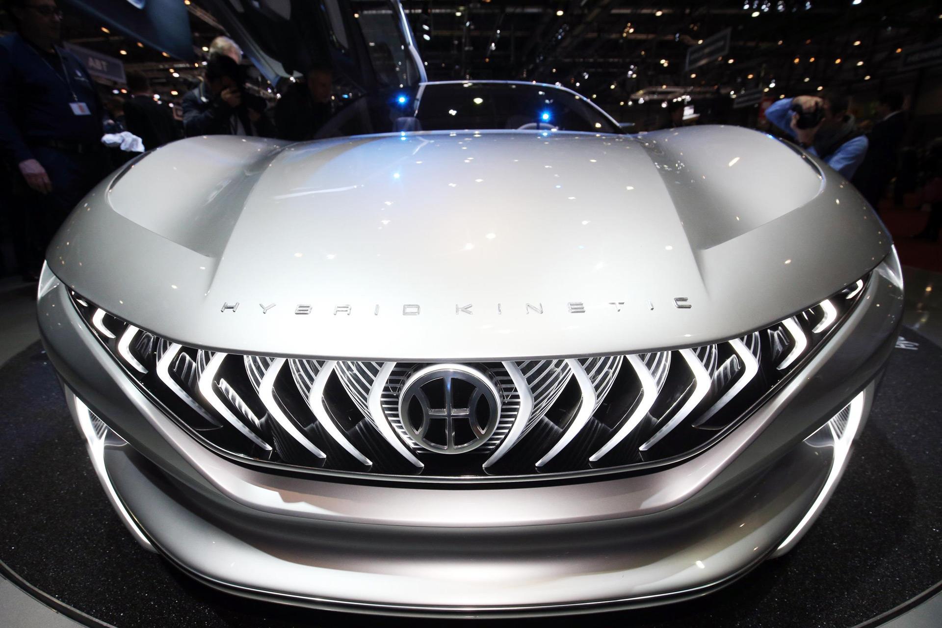 Pininfarina-styled HK GT concept debuts at Geneva auto show