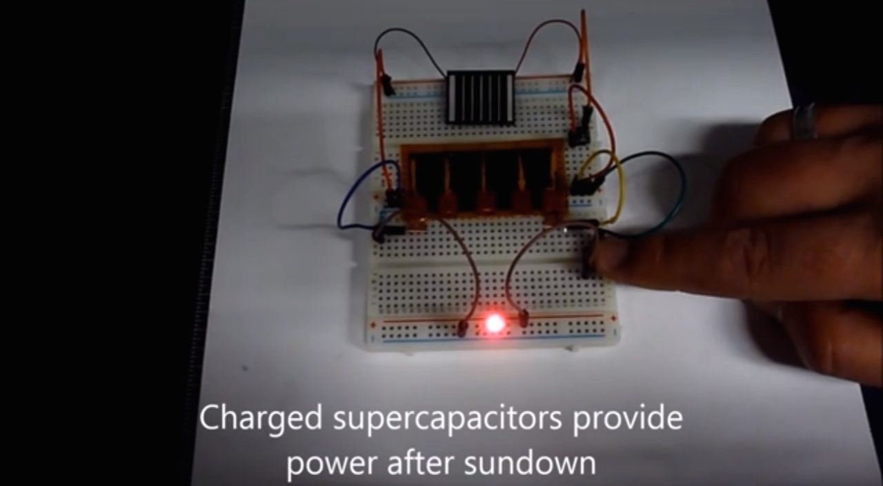 Hybrid Supercapacitor Gives Energy Density Of Lead-Acid Batteries
