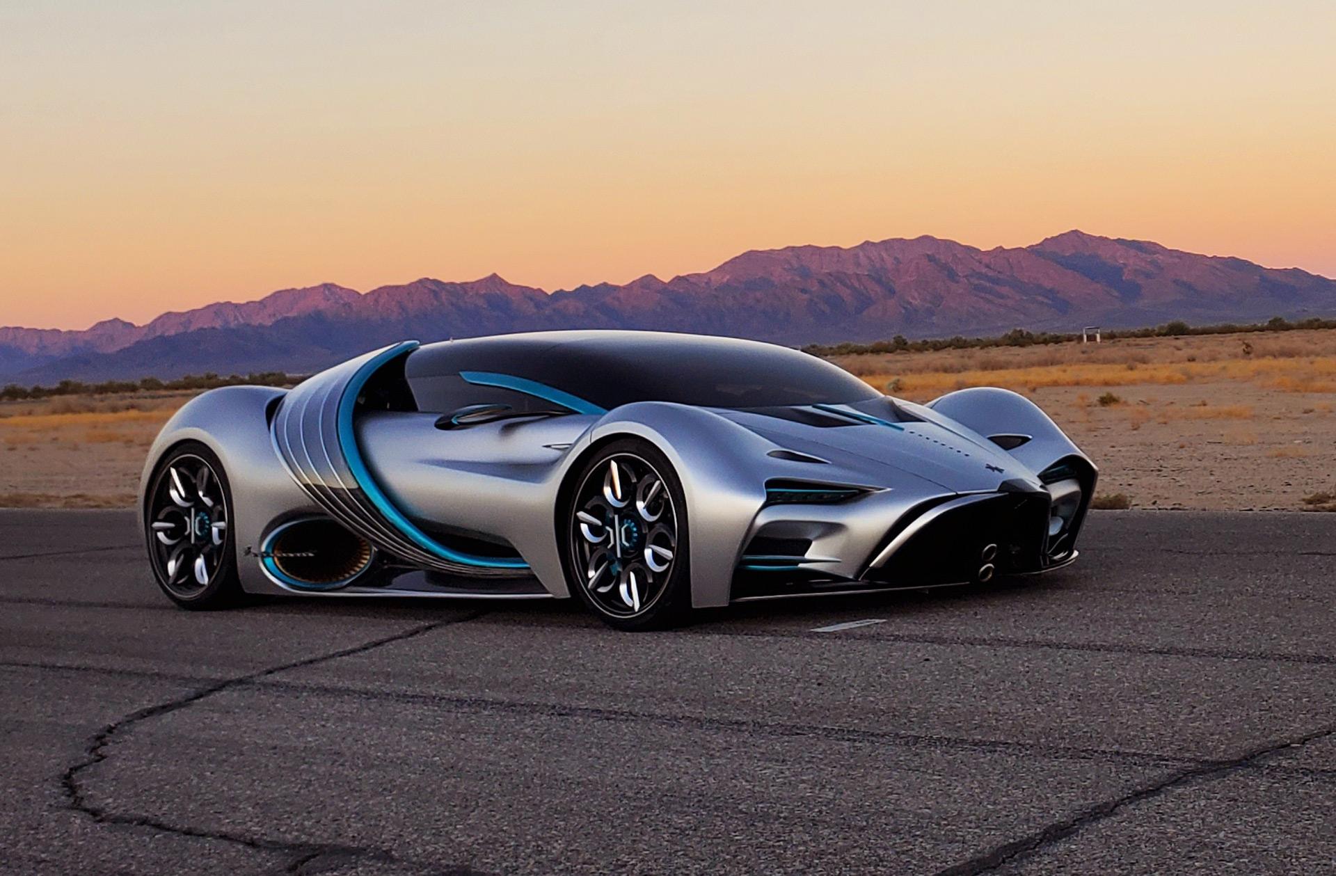 Hyperion XP-1 hydrogen fuel-cell supercar touts 1,000-mile range, 221-mph top speed