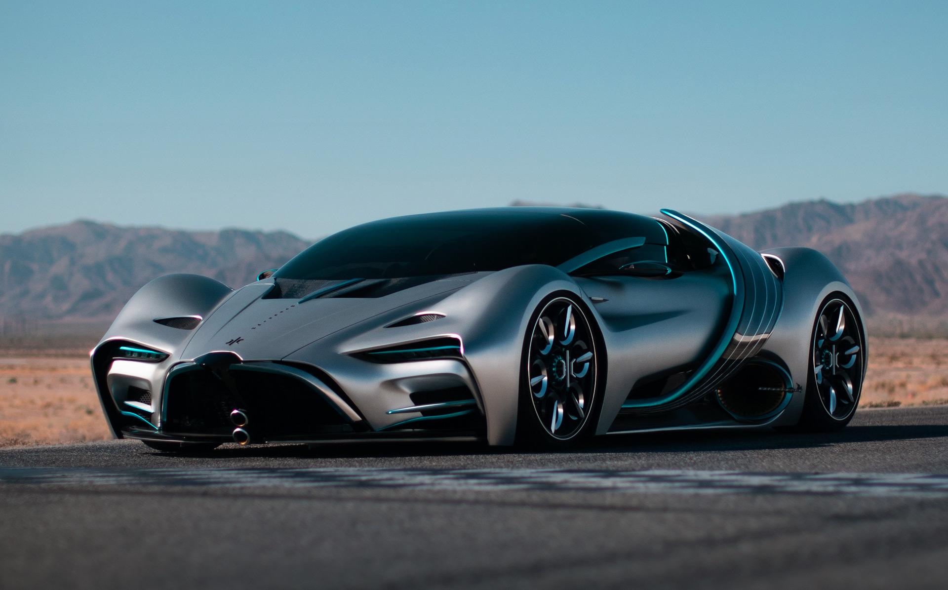 California firm Hyperion unveils XP-1 hydrogen supercar