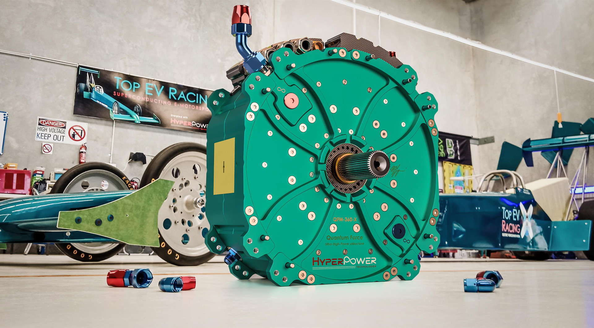 Australian company unveils 1,340-horsepower electric motor for hypercar, hyperloop applications