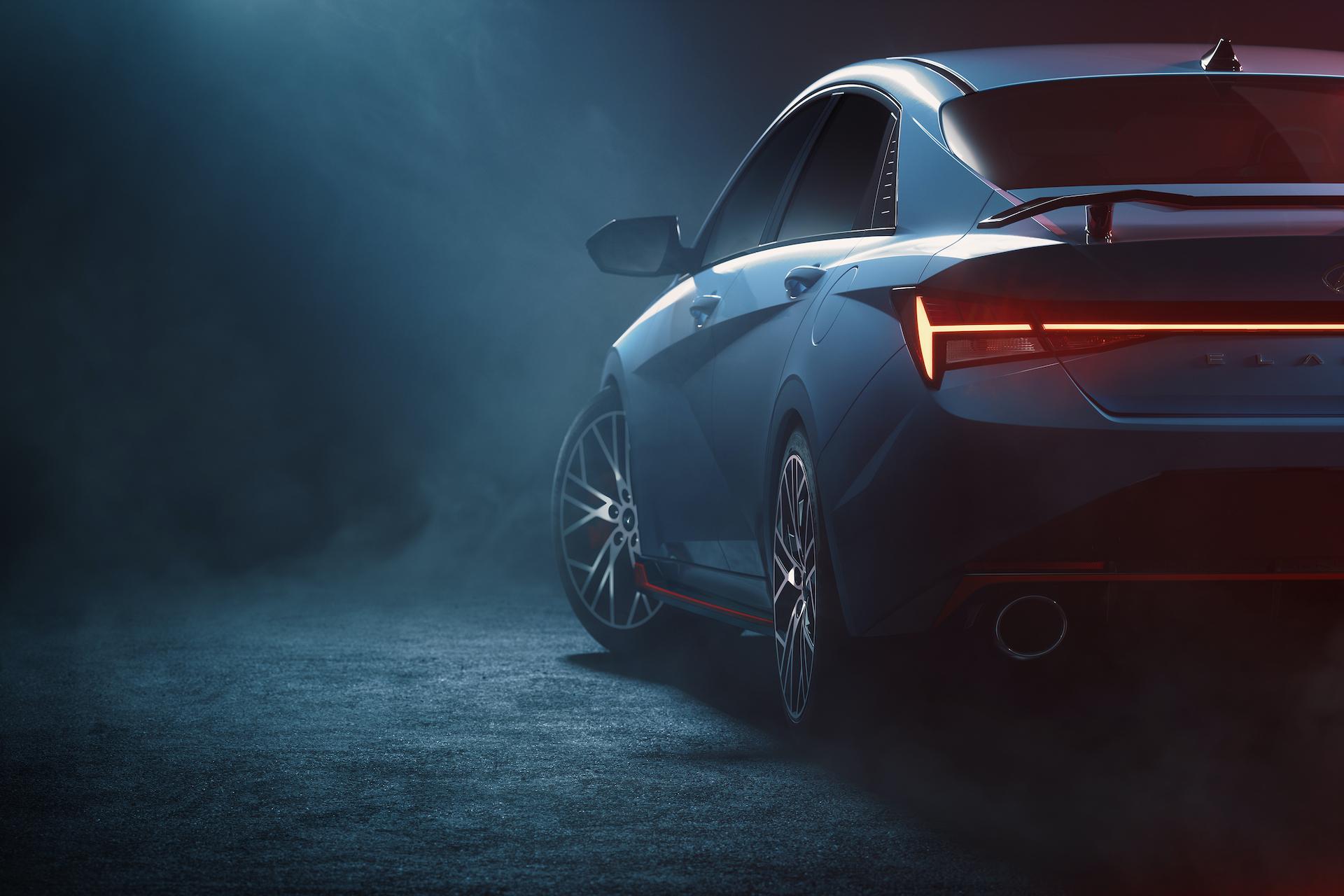 Hyundai teases Elantra N sport sedan