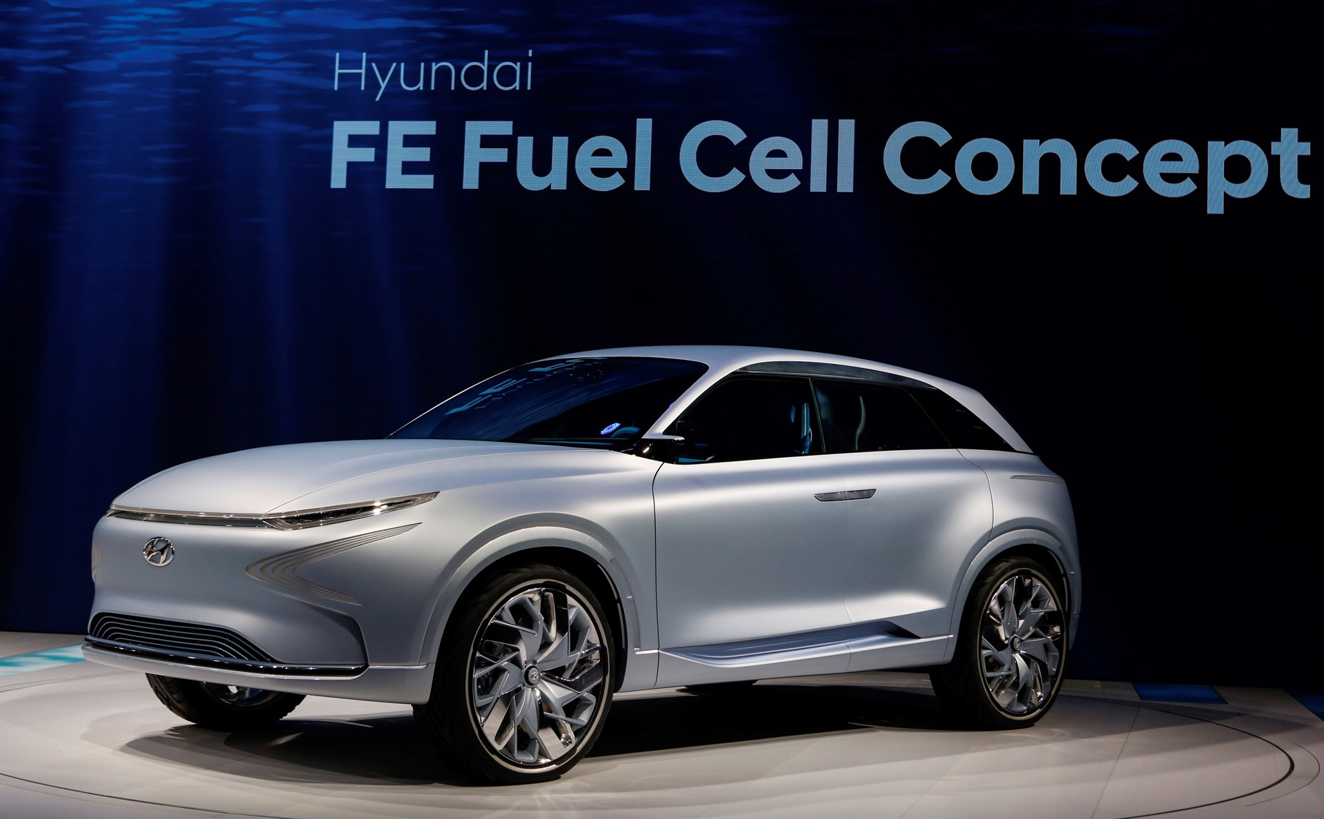 Hyundai FE Fuel Cell Concept Previews Hydrogen Powered SUV Coming In 2018