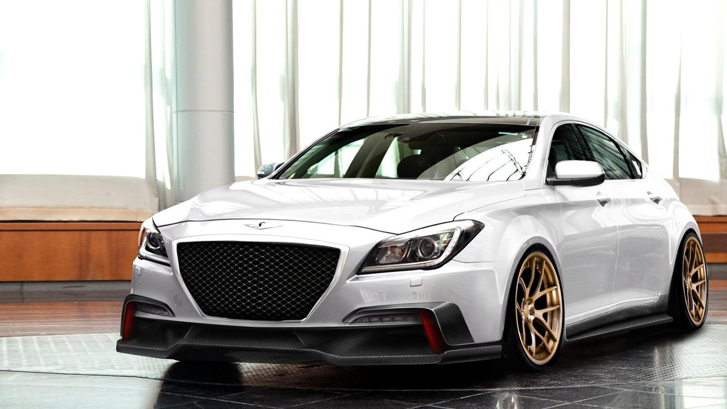 Genesis G80 2016 Meet Hyundai S Perception Of Luxury: ARK Performance Turns 2015 Hyundai Genesis Into Super SEMA