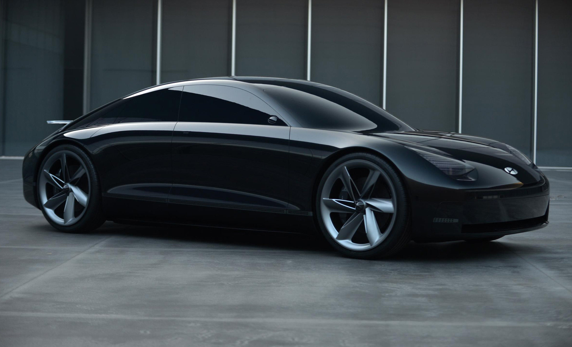 Hyundai Prophecy Concept Is A Sleek Sporty Ev With No Steering Wheel