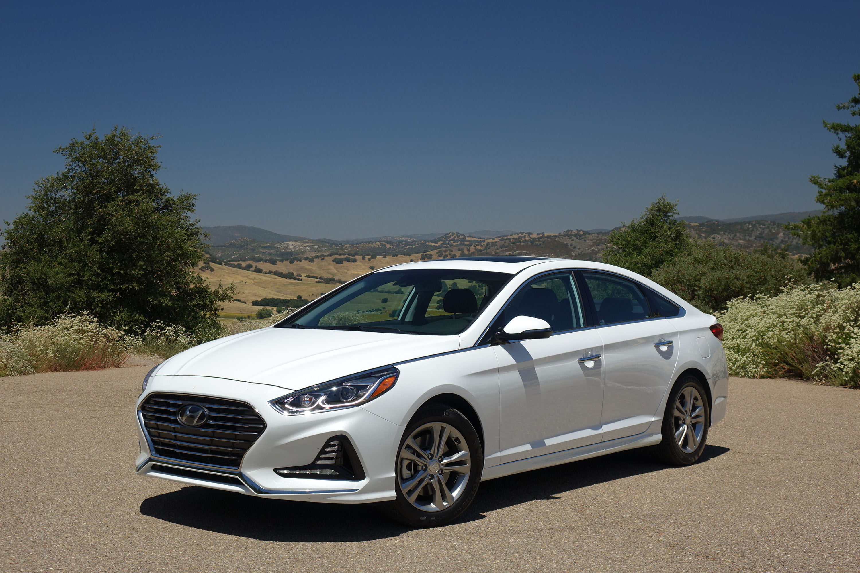 2018 Hyundai Sonata Driven Mercedes S Cl Honda Accord Hybrid