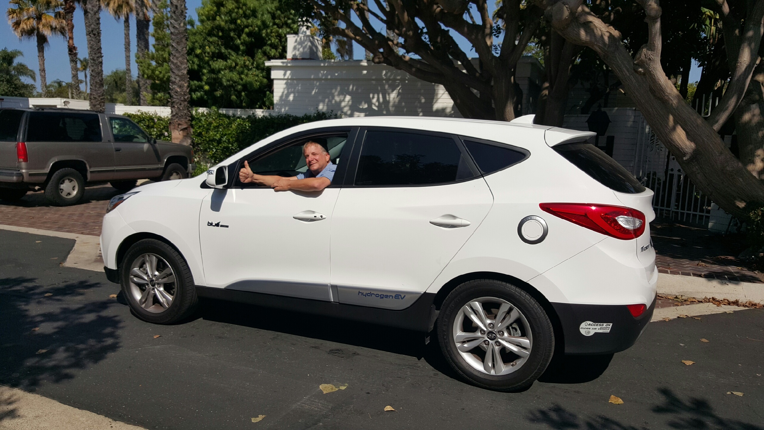 hyundai tucson fuel cell early drivers discuss experiences traveling  hydrogen