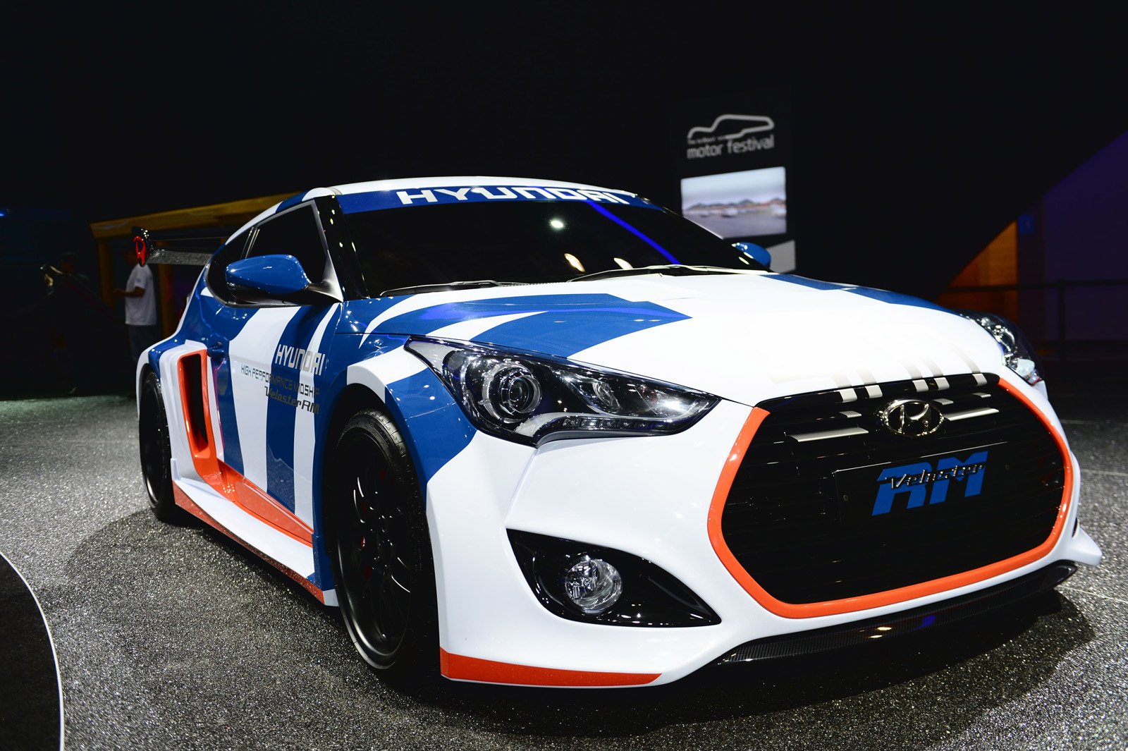 Hyundai Reveals Veloster Midship Concept And AG Luxury Sedan In Busan