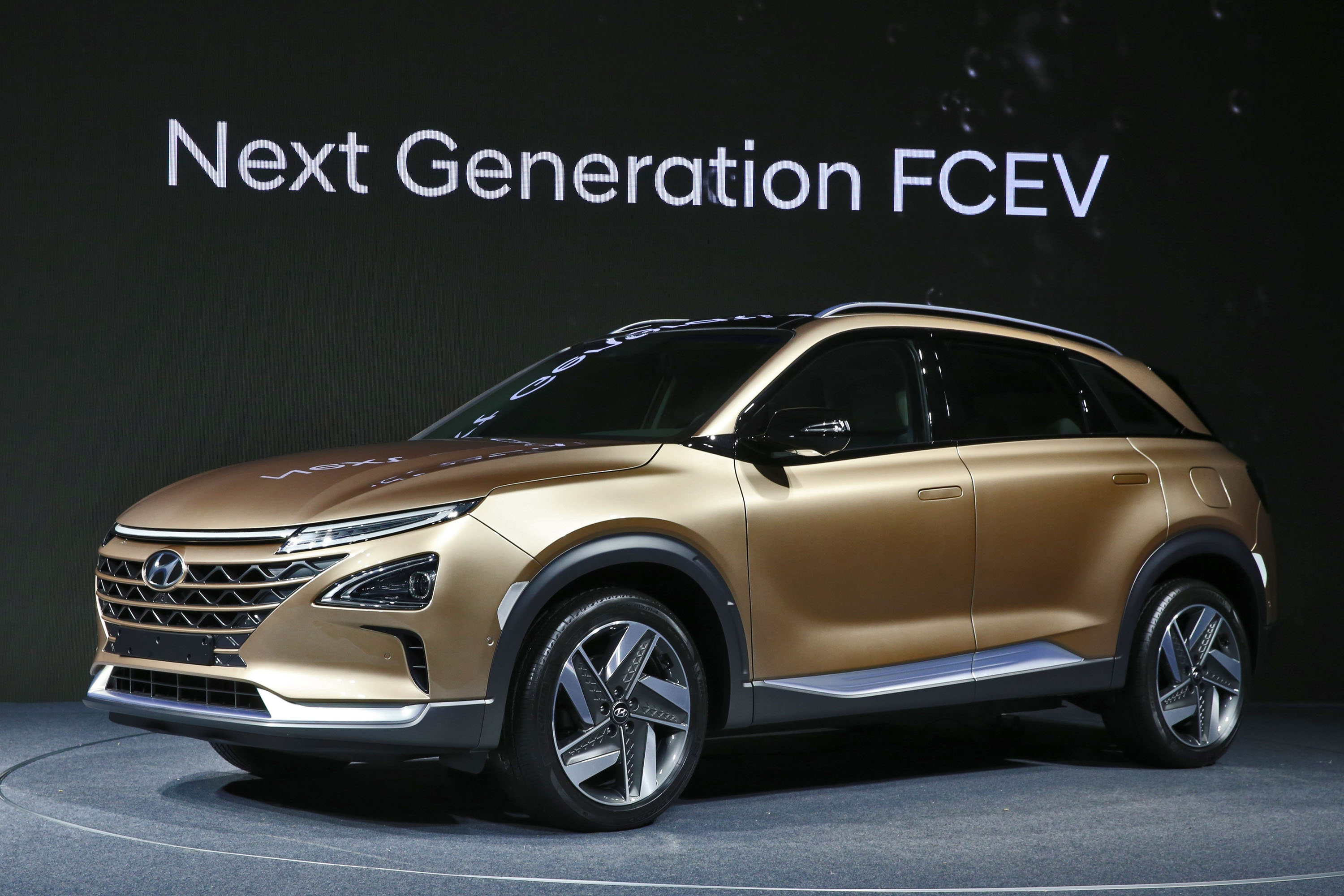 Hyundai Fuel Cell SUV concept: hydrogen crossover coming