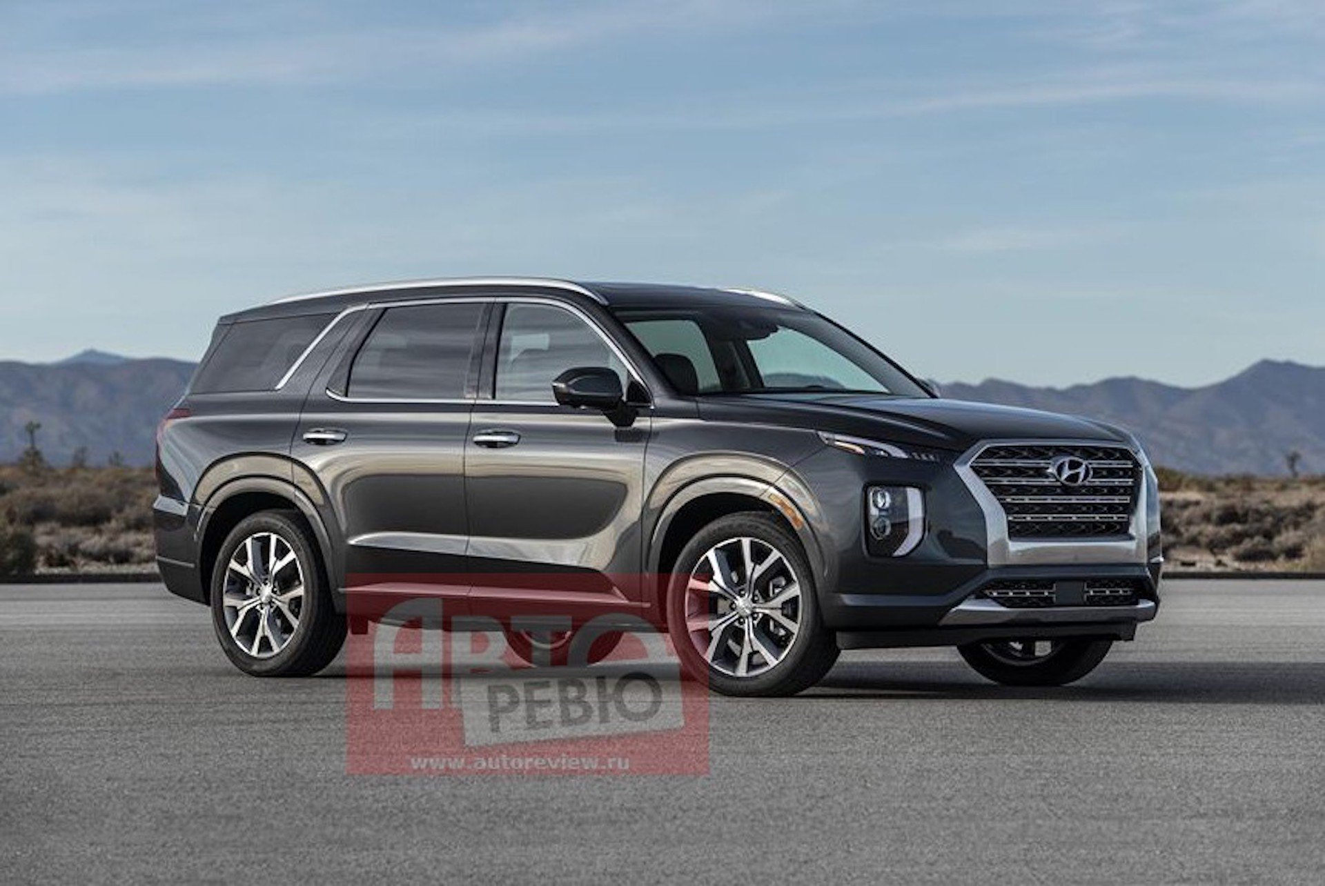 Hyundai Palisade Suv Leaked Ahead Of Debut