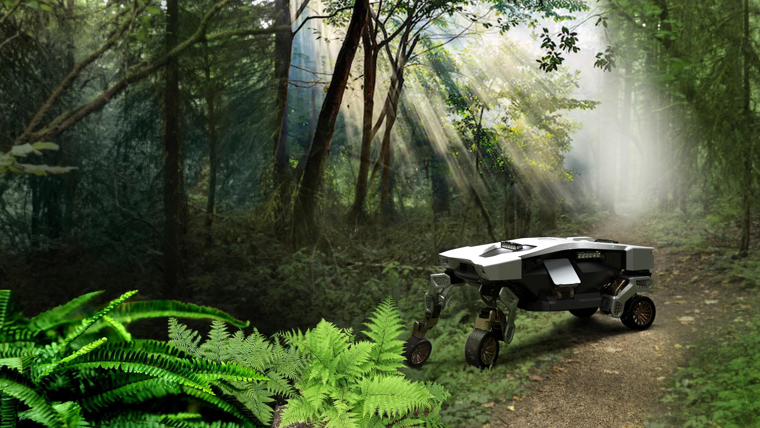 Hyundai Tiger X-1 concept walking car could be a lifesaver