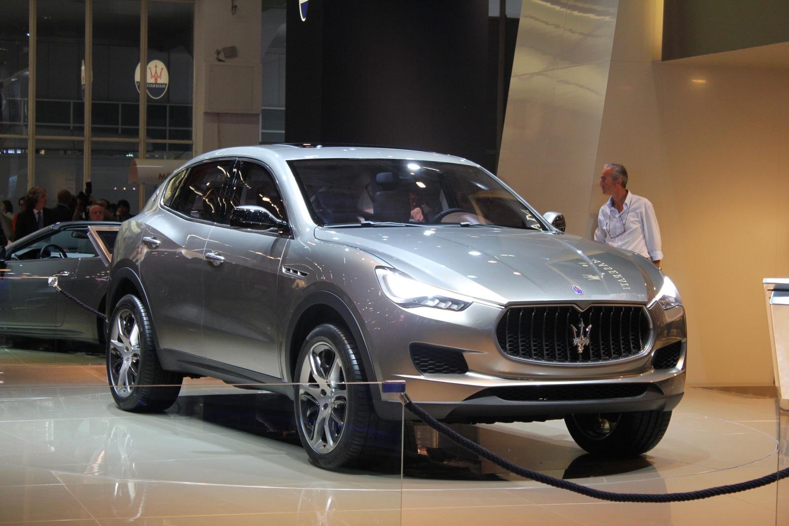 Maserati Levante To Debut At 2016 Detroit Auto Show: Report