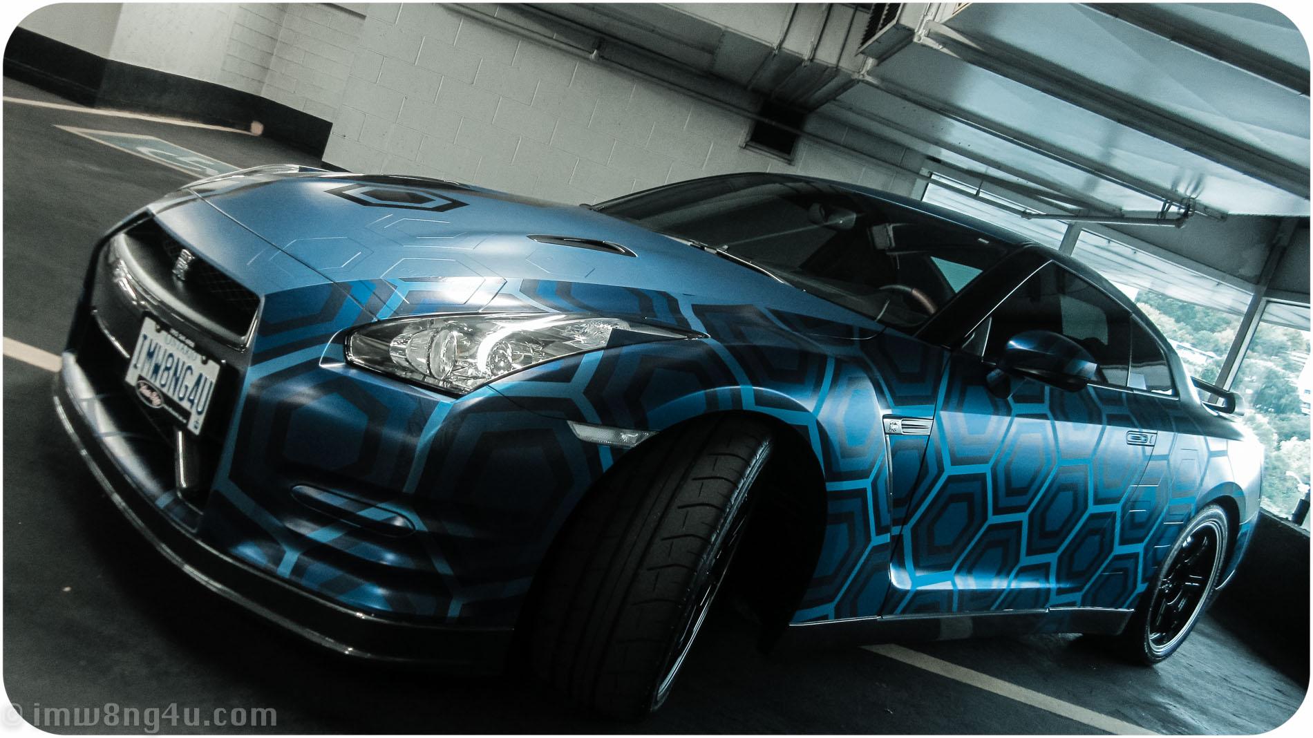 Nissan Gtr Concept >> The Next Craze In Supercar Wraps: 3D Effects?