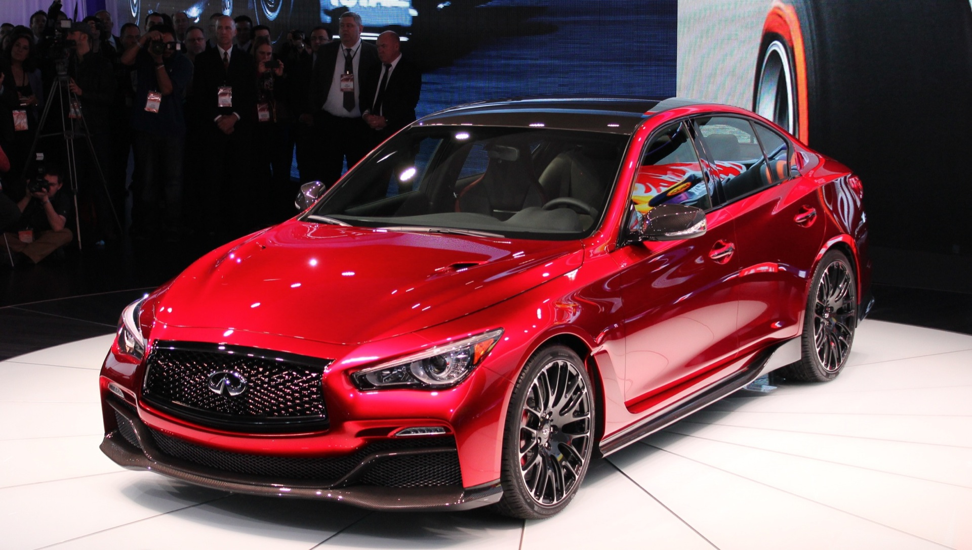 Infiniti Q50 Eau Rouge Prototype To Make Dynamic Debut At ...