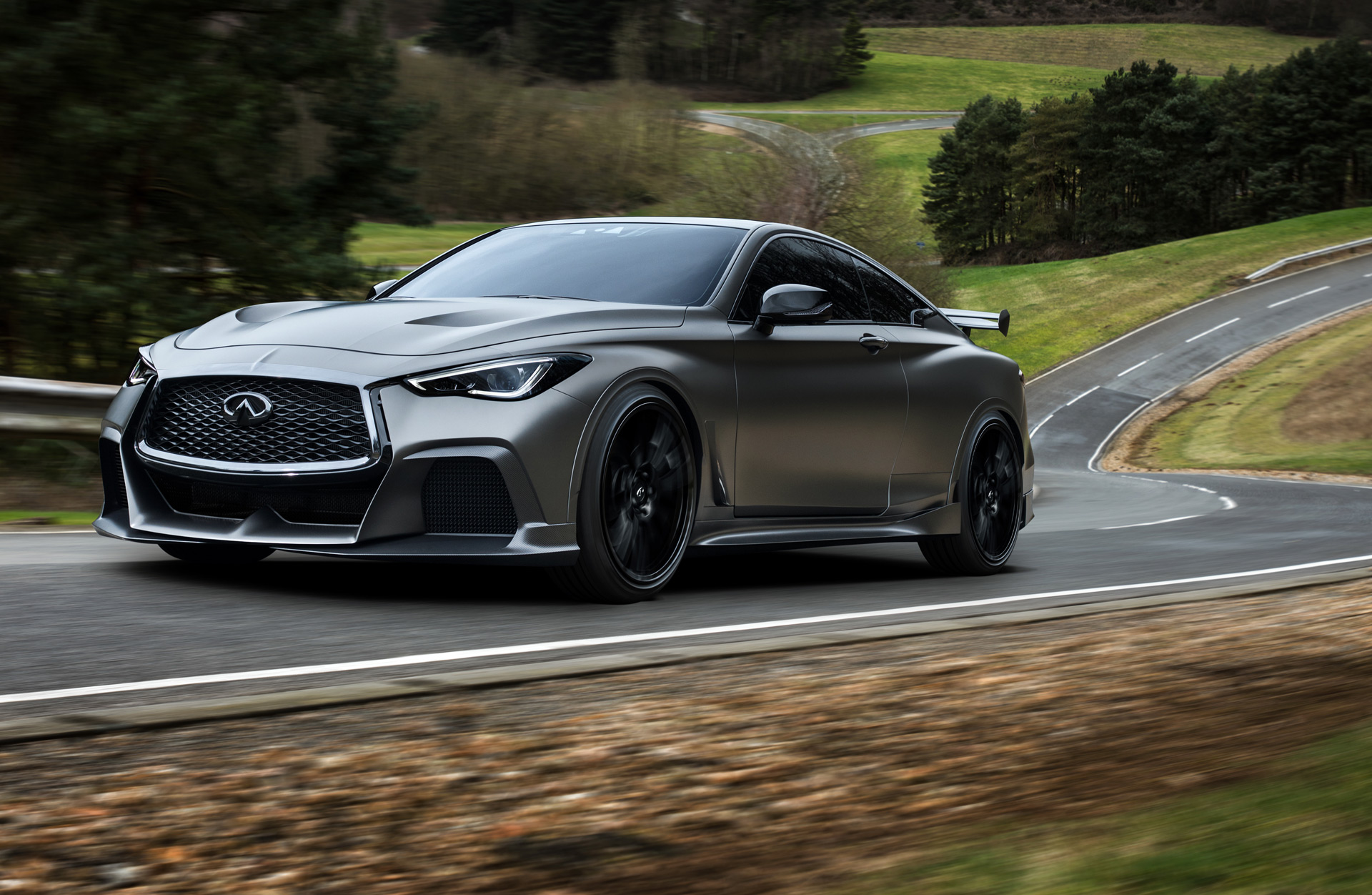 infiniti q60 blacked out. report infiniti q60 black s coming to challenge bmw m4 mercedesamg c63 coupe blacked out