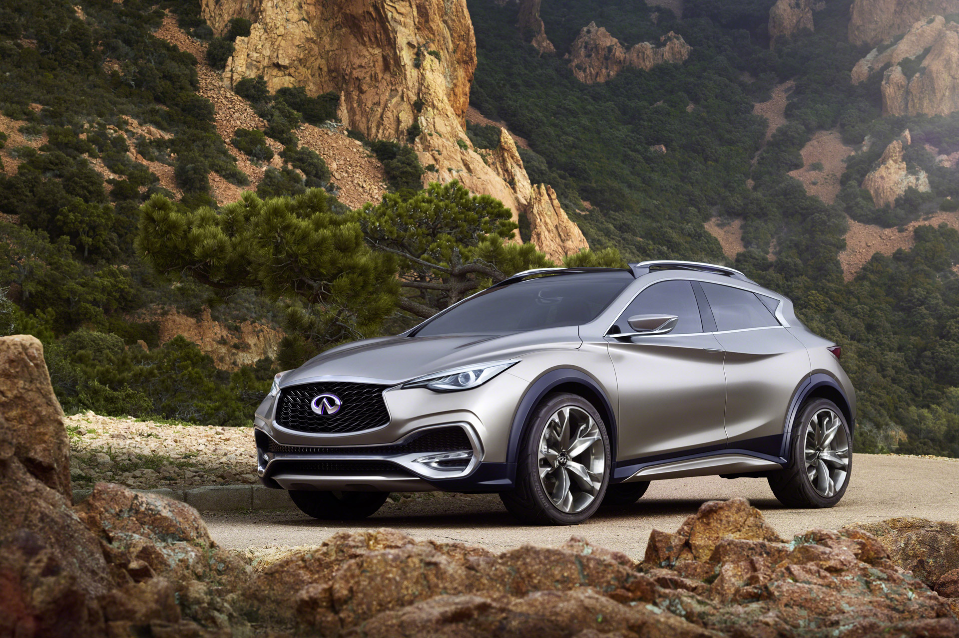 Infiniti Qx30 Concept Small Luxury Suv Previews 2016 Model At Geneva Show