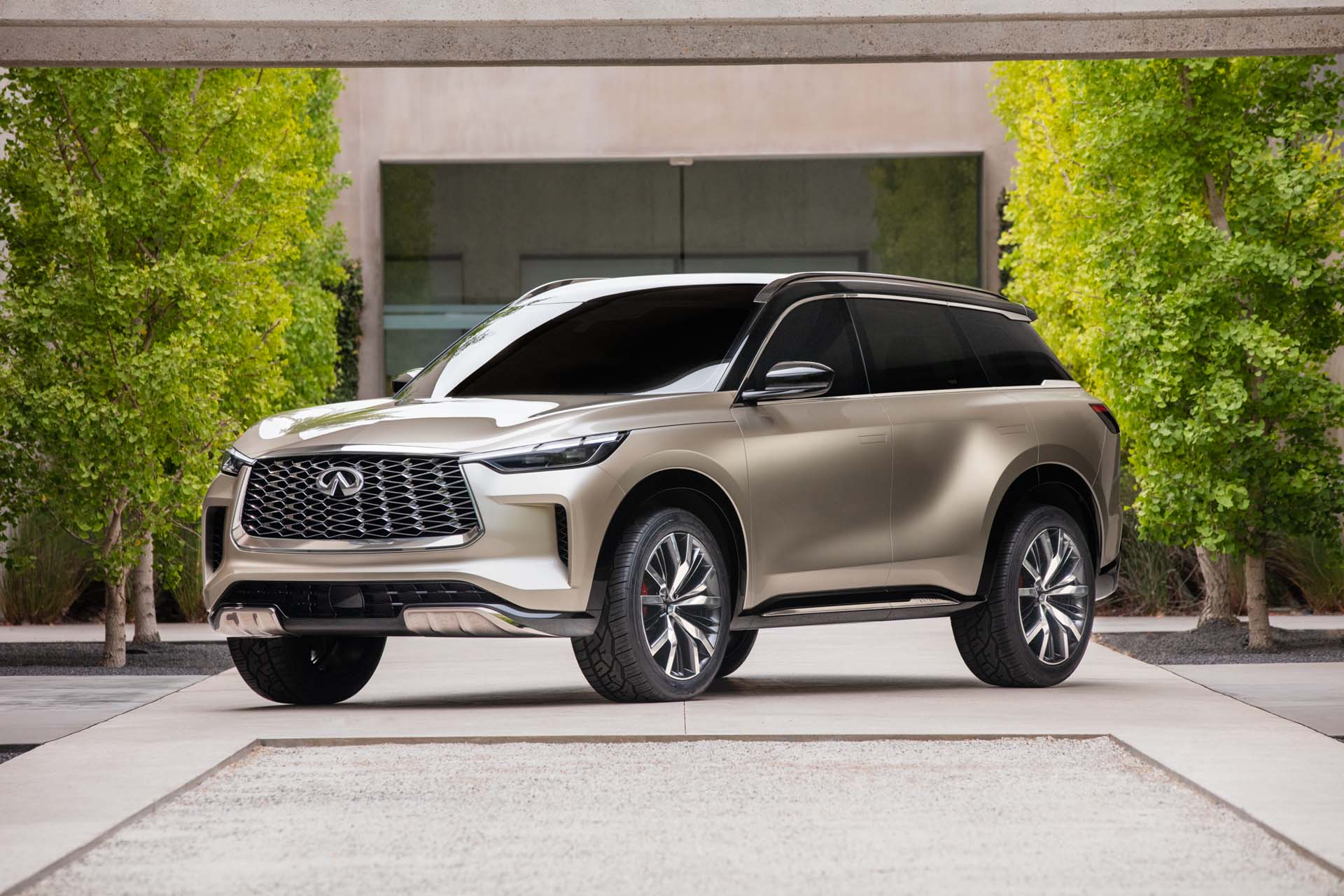 infiniti qx60 monograph concept hints at sexy redesign for