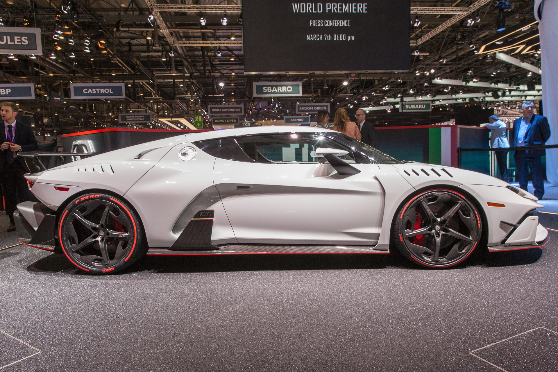 First model from Italdesign road car division is the Zerouno