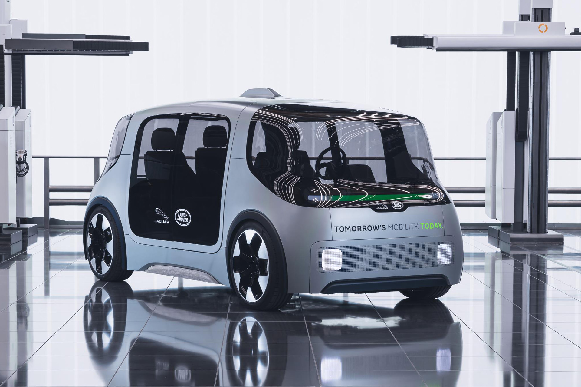 Jaguar Land Rover latest to unveil a self-driving shuttle