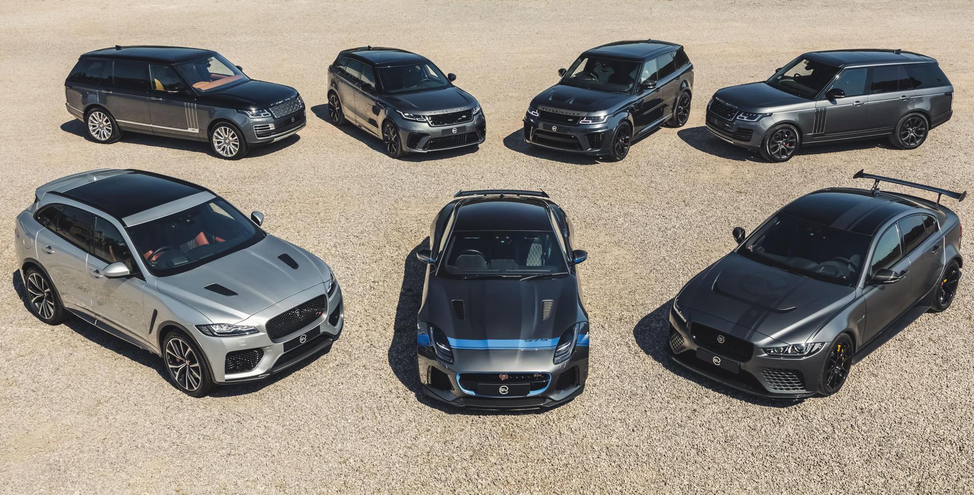 Jaguar Land Rover's SVO plans high-performance EVs