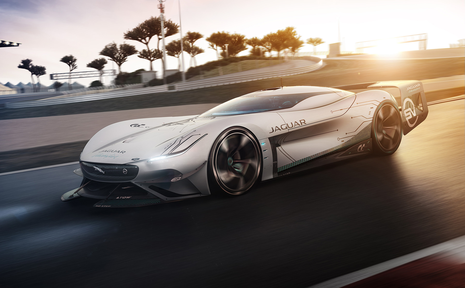 Jaguar Vision Gran Turismo SV is the electric race car of the future