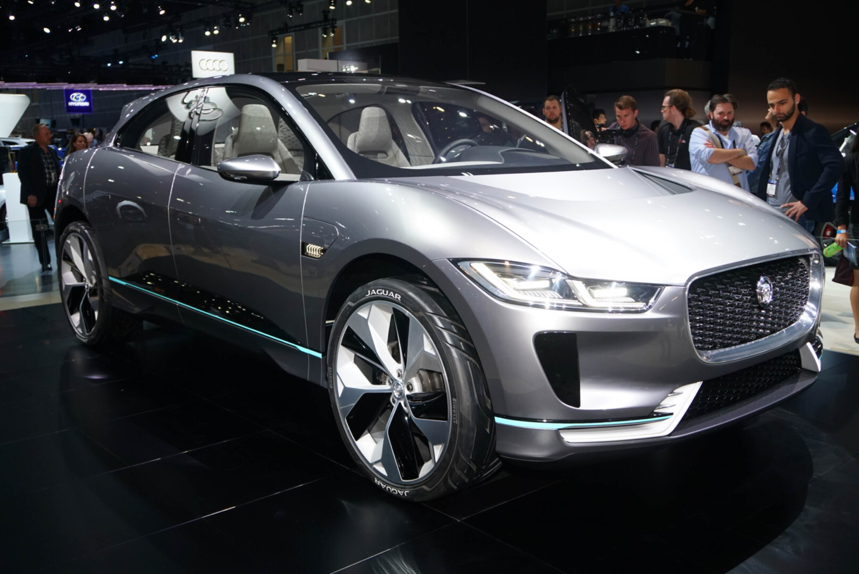 Jaguar I Pace Concept Previews Electric Suv Coming In 2018