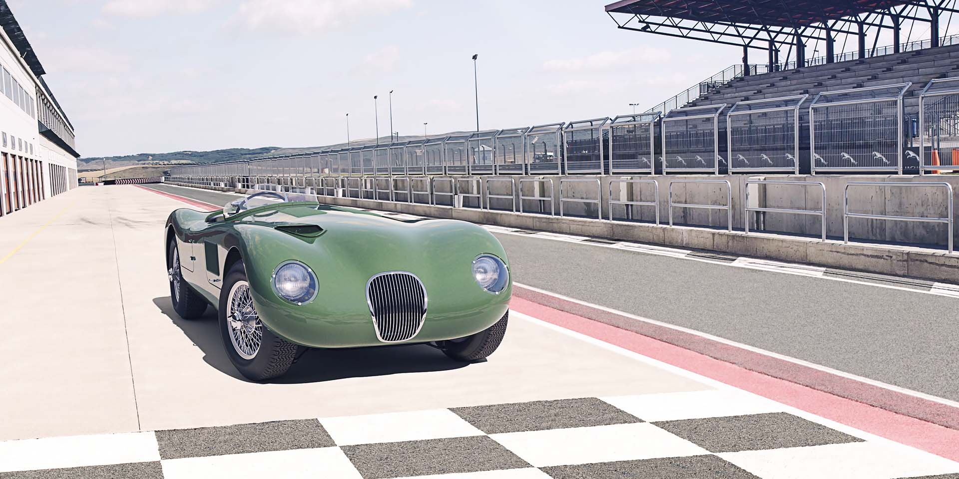 Jaguar C-Type returning to production in latest continuation-car project